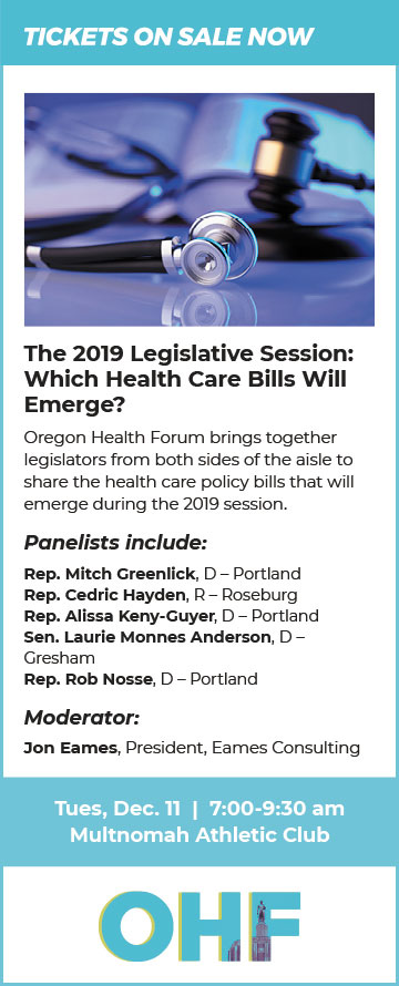OHF December 2019 Health Care Bills Event