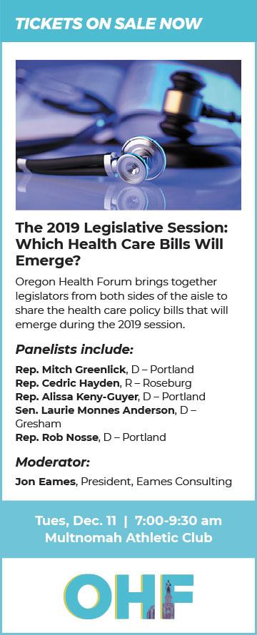 OHF December 2019 Health Care Bills Event