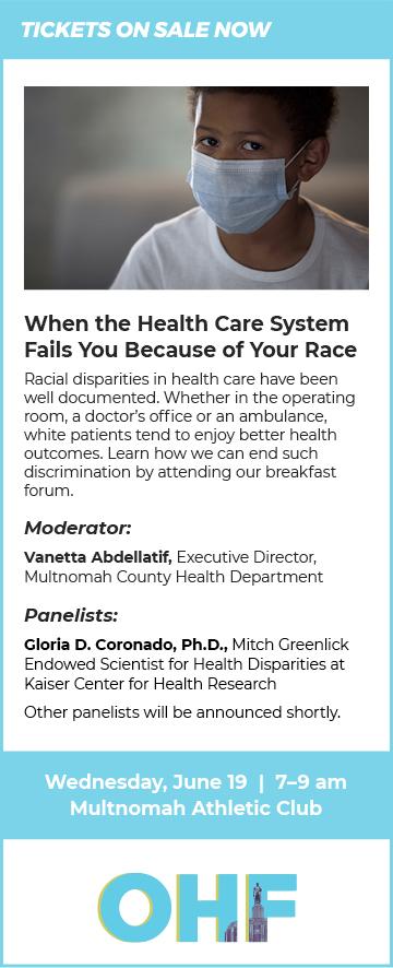 Event description for OHF's June Breakfast Forum