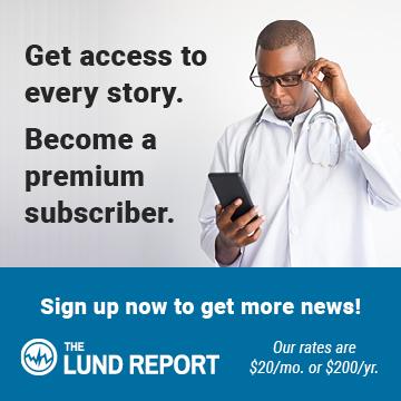 Lund Report premium subscription ad
